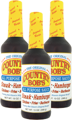 I Love Country Bob's All Purpose Sauce