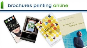 100 Color Tri fold Brochures