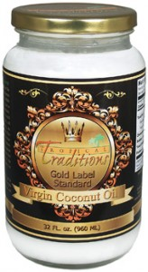 Tropical Traditions Coconut Oil 32 oz. Jar