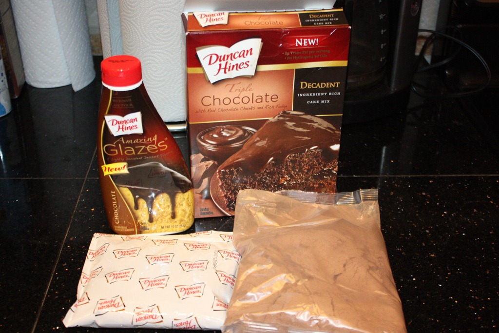 Duncan Hines Triple Chocolate Cake Mix Review