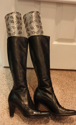 Black Boot Shapers