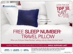 Sleep-number-free-travel-pillow