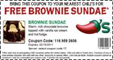 Chili's-Free-Brownie