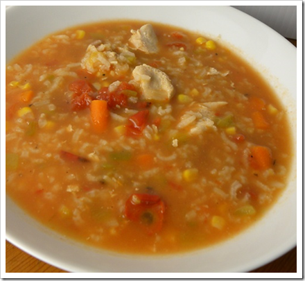 Easy and Delicious Chicken and Rice Soup - With Our Best