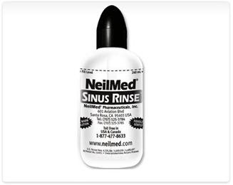 how to use neilmed sinus rinse bottle