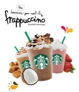May 6-15 HALF Price Frappuccinos and May 10 Free Coffee Bean