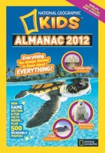 *Closed*Giveaway! 2 Winners! National Geographic Kid's Almanac 2012 {Ends 6/15}