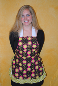 *Closed*Giveaway! Polka Dot Canary Apron {Ends 6/20}