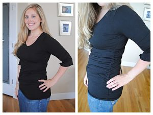 Review: Peek A Boo Nursing Top