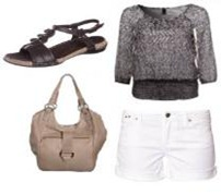Casual-White-Shorts-Summer