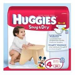 Free Huggies Snug & Dry Diapers Sample… Hurry!
