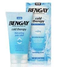 Bengay Cold Therapy + giveaway