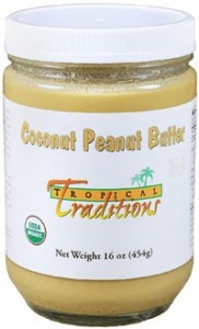Review: Tropical Traditions Coconut Peanut Butter + giveaway