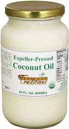 Tropical Traditions has Coconut Oil for Pets!