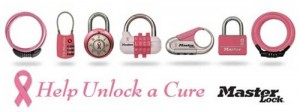 Help Unlock a Cure with Master Lock PINK