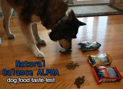 Natural Balance Alpha Dog Food Reviews