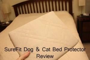 Sure Fit Pet Bed Slip Cover Review