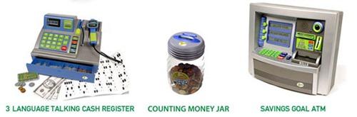 Deluxe Toy Cash Register : Last minute kids gift zillionz real money talking cash
