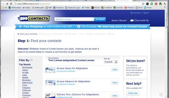 I Have An Eye For Convenience1800contacts With Our Best Denver