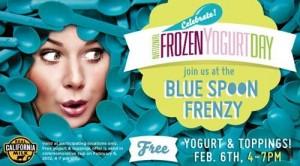 National Frozen Yogurt Day = FREE Frozen Yogurt at Yogurtland!