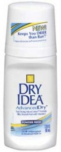 Dry Idea Advanced Dry Deodorant (3 WIN) + $500 Giveaway