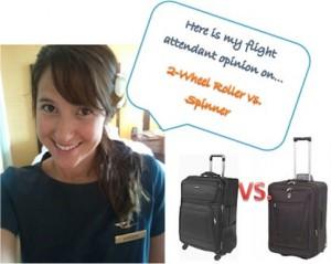 Suitcase Debate: 2-Wheel vs. Spinner Luggage