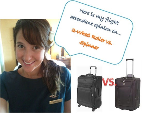 Suitcase Debate: 2-Wheel vs. Spinner Luggage - With Our Best ...