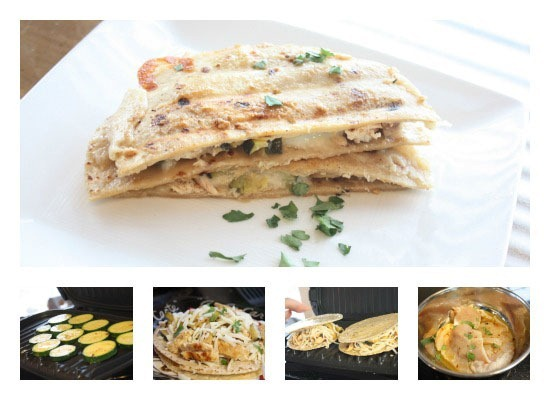 Grilled Cumin-Lime Zucchini Quesadilla Recipe — Dishmaps