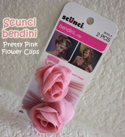 Giveaway @scunciHair flower bendini {Ends 7/25}