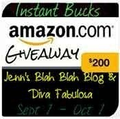 Win a $200 Amazon Gift Card {Giveaway Event 9/1-10/1} - With