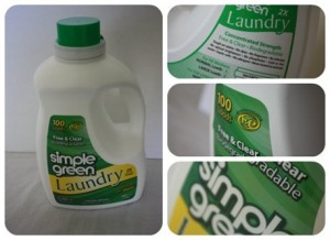 Simple Green Laundry Review {Giveaway} (Ends 8/25)