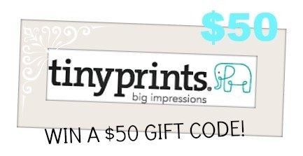 Tiny Prints Gift Card