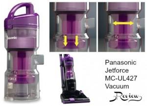 Panasonic Jetforce Vacuum {Review} #HolidayGift