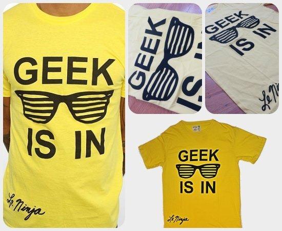 geek t shirt le ninja tees