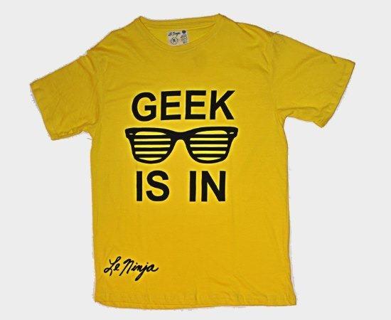 geek t shirt le ninja