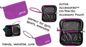 Super Handy Active Accessories Pouch {Giveaway}