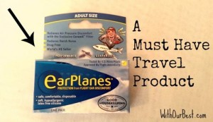 Sinus Pressure When Flying SOLVED {Giveaway}