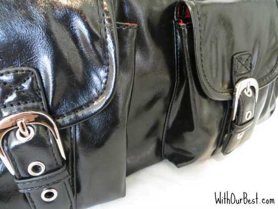 Purse-black-travel-bag