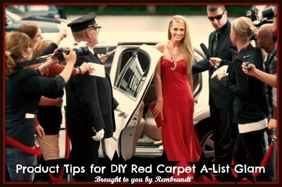 Red Carpet A list Glam Tips Tricks