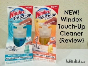 Dab It, Clean It, Done – Windex® Introduces a New Cleaner {Giveaway}