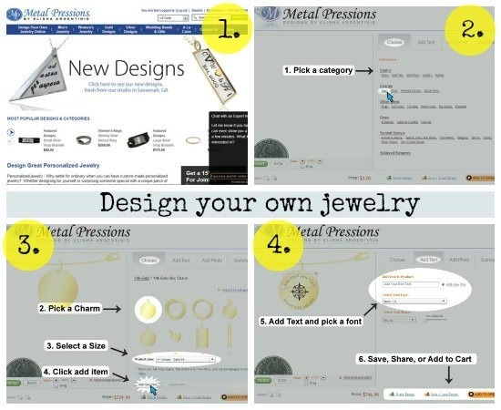 2how to use metalimpressions custom jewelery