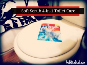Soft Scrub 4-in-1 Toilet Cleaner {+Giveaway)
