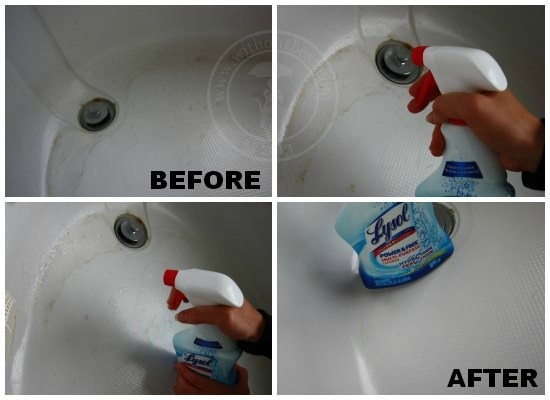 lysol bathroom cleaner