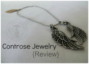 Angel Wing Necklace from Recycled Stainless Steel By Controse