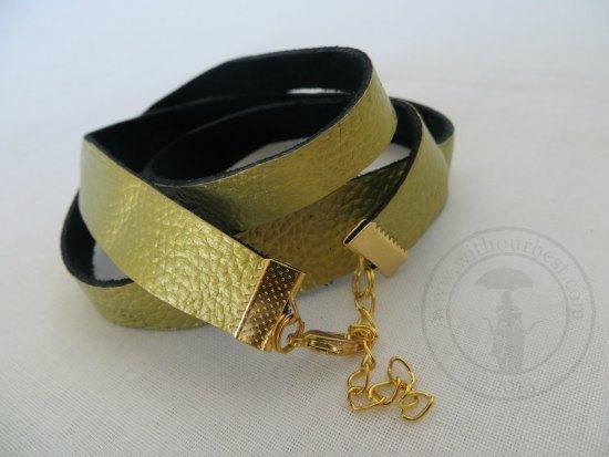 julishland wrap bracelet leather