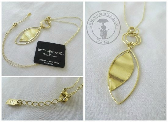 betty carre gold plated jewelry