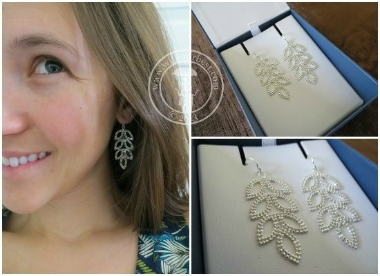 blue nile earring set review