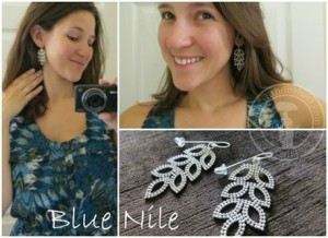 Blue Nile Leaf Chandelier Earrings Review {+Giveaway}