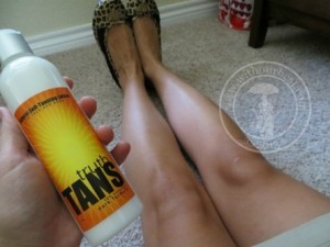 All Natural Sunless Tanning Lotion {Review}