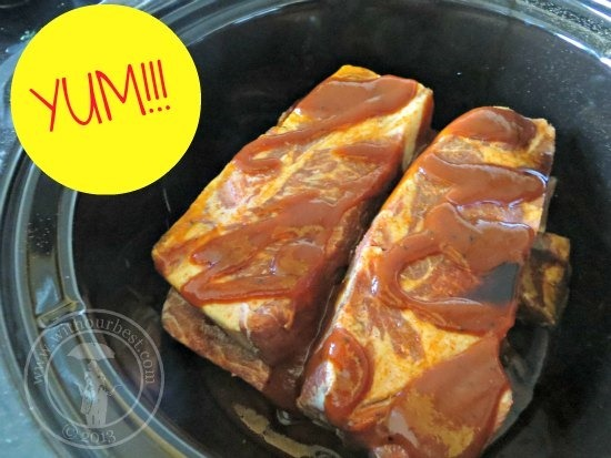 recipe pork spareribs crock pot